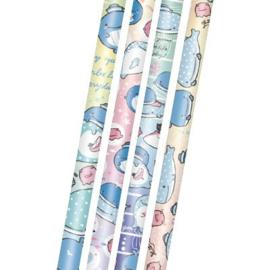 4 Stück 2B Bleistift- San-X Jinbesan