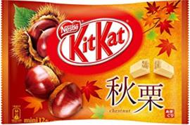 Japanischen KitKat Chestnuts - 12 minis