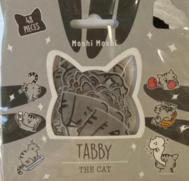Stickerzakje Tabby The Cat