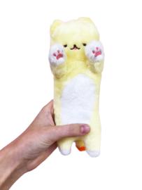 Kawaii Cat Plush - Yellow