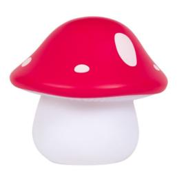 Kawaii Lampe Mushroom red