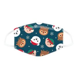 KIDS Mondkapje - Christmas