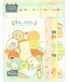 Briefpapierset San-X Sumikkogurashi Bread