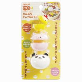 Bento Sauce Cups Kawaii Animals