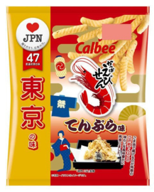Calbee Chips Local Gourmet Tokyo Tempura
