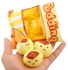 Mini Plushie Pudding bag