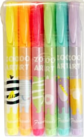 Markers - Animal Friends - 6 pcs