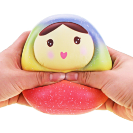 Squishy Vlampo Matroesjka Rainbow