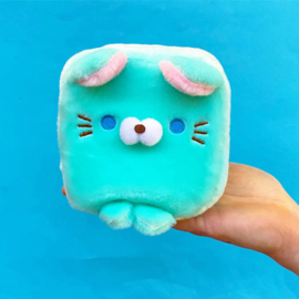 Plushie Cube Friends - Turquoise
