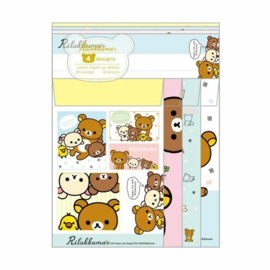 Briefpapierset Rilakkuma Happy life