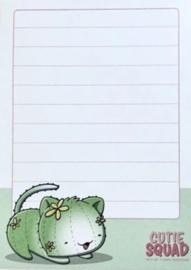 Sticky Notes Block - Cactus Cat - CutieSquad