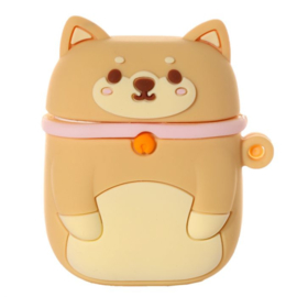 Silicone case for wireless earbuds - Shiba