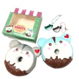 Squishy Poli Donut mit aroma von Popularboxes und Puni Maru