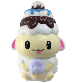 Squishy Baby Sheep white