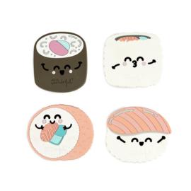 Kawaii Bento Untersetzer - Sushi