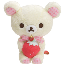 Korilakkuma Strawberry  Plush - 17 cm - Official San-X