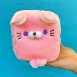 Plushie Cube Friends - Pink