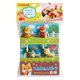 Kawaii Shiba Inu - Food Picks für Bento Box Lunch Box