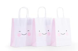 5 stuks Kawaii Cadeautasje - Roze
