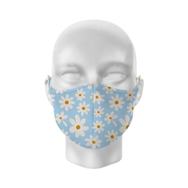 Süße Mund-Nasenmaske - Daisies