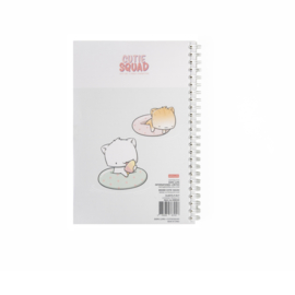 Notebook A5 - Poolfloat Cats - Cutiesquad