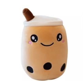 Kawaii Soft Boba Plush Small Brown