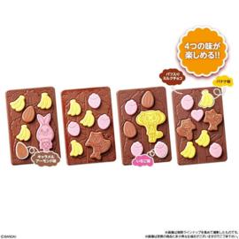 Choco no Mi Danomo - chocoladereep met fruitfiguurtjes