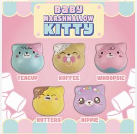 Squishy Puni Maru Baby Marshmellow Kitties - pick one