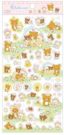 Stickervel San-X Rilakkuma Cute Rabbits forest