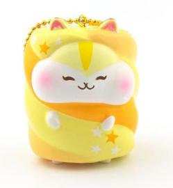 Squishy Poli Hamster Marshmallow Yellow
