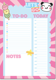Kawaii Planner A5 Let's Go - To Do Today