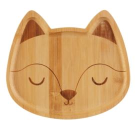 Bambusplatte Fox