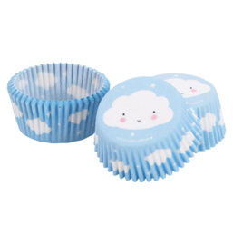 Cupcake-Förmchen: Wolke