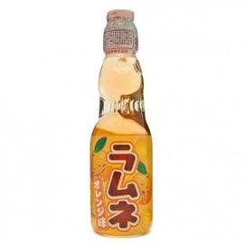 Ramune Orange Japanese Soda drink
