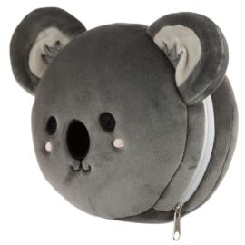 Releaxeazz Plushie Koala reiskussen met slaapmasker