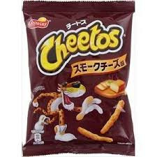 Japan Cheetos Smoked Cheese