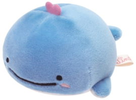 Jinbesan Kojira stretchy plushie baby whale