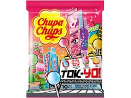 Chupa Chups Tokyo Limited Edition (sakura, strawberry matcha, ramune, yuzu)