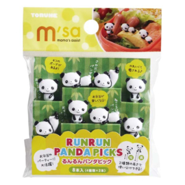 Kawaii Picks Panda - Bento Picks