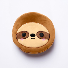 Releaxeazz Plushie Sloth travel pillow with sleeping mask
