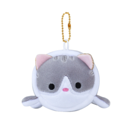 Plushie Soft Kawaii Cat - Grey