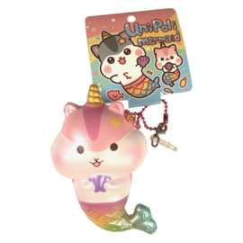 Squishy UniPoli Mermaid Keychain