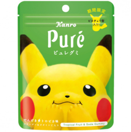 Puré Pokémon Pikachu Gummy (tropical)