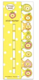 Stickynotes -  Piyoko Beans Series Fruit