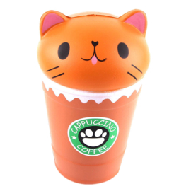 Squishy Kawaii Cat Coffee Cup