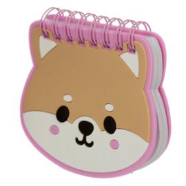 Notebook klein Shiba