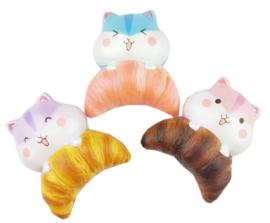 Squishy-Anhänger Poli Mini Croissant