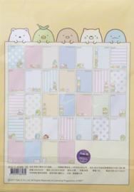 A5 briefpapier Sumikko Gurashi - 32 sheets