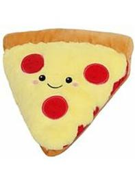 Squishable Snugglemi Snackers - 5 inch mini pizza