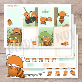 Planner Sticker Kit - Red Pandas - CutieSquad